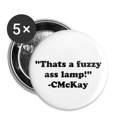 CMcKay Fuzzy Quote Pin - Small Buttons