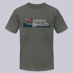 Ocean Beach San Diego - Men's T-Shirt by American Apparel