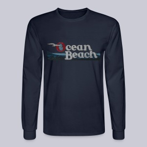 Ocean Beach San Diego - Men's Long Sleeve T-Shirt