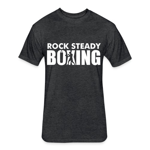 Boxing Bag Tee  - Fitted Cotton/Poly T-Shirt by Next Level