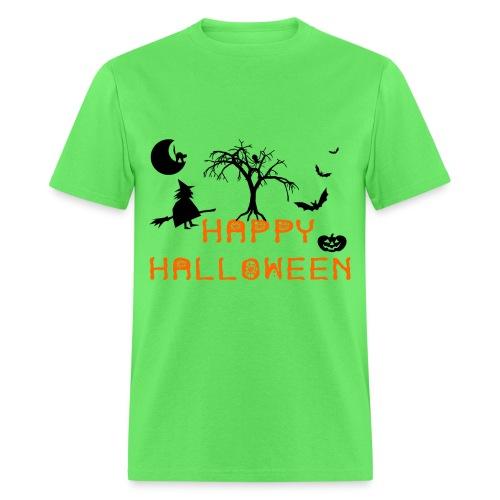Tom's Tees Happy Halloween - Men's T-Shirt