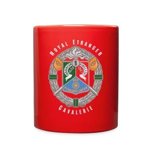 1er REC Badge - Foreign Legion - Mug - Full Color Mug