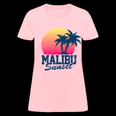 Vintage Malibu Sunset used