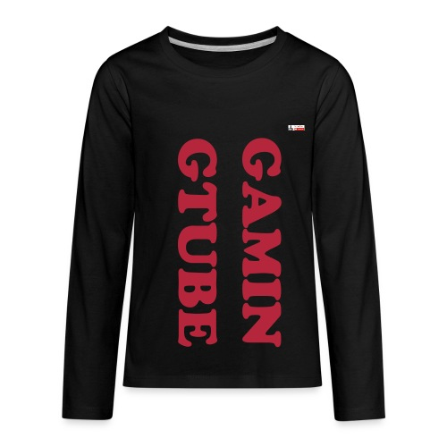 GAMINGTUBE Kids' Premium Long Sleeve T-Shirt - Kids' Premium Long Sleeve T-Shirt