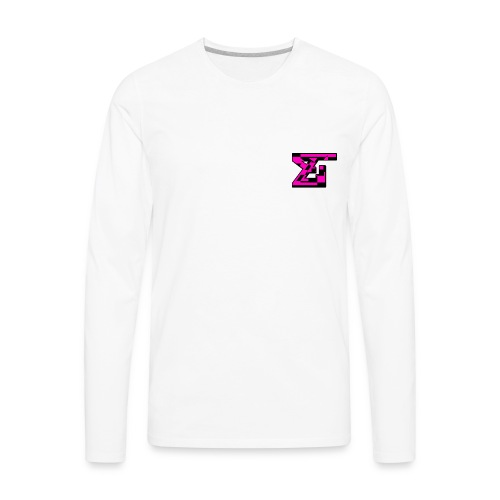 Zaedical Pink Zebra Long Sleeve - Men's Premium Long Sleeve T-Shirt