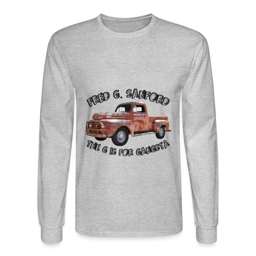 The G is for Gangsta - Men's Long Sleeve T-Shirt