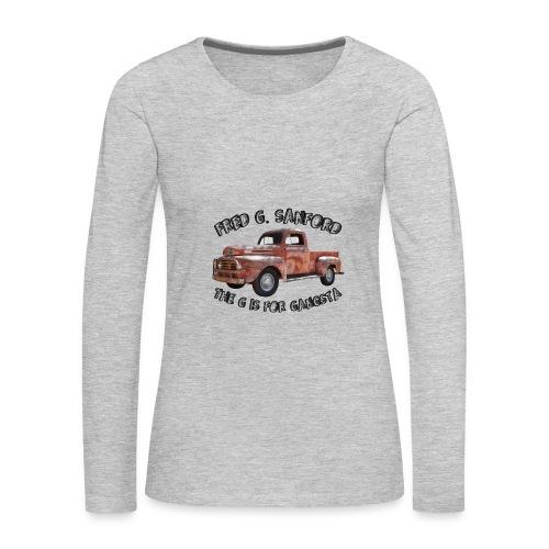 The G is for Gangsta - Women's Premium Long Sleeve T-Shirt