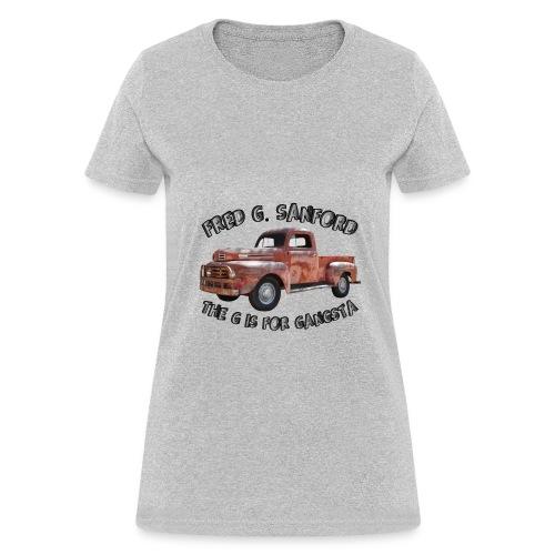 The G is for Gangsta - Women's T-Shirt
