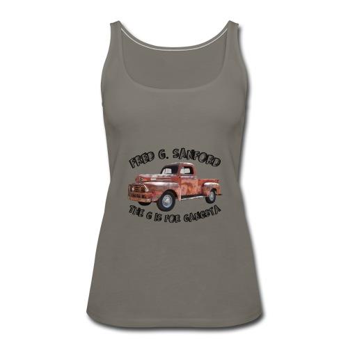 The G is for Gangsta - Women's Premium Tank Top