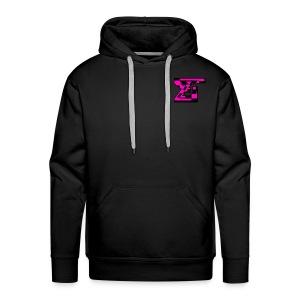Zaedical Pink Zebra Sweatshirt - Men's Premium Hoodie