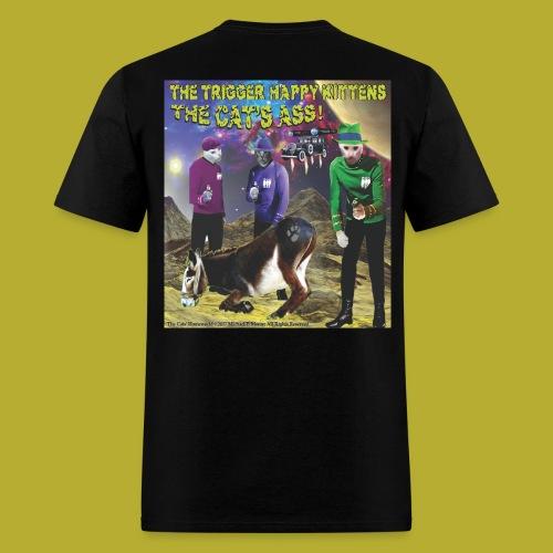 Th4e Cats' Ass _ FRONT & The Cats' Homeworld! - on BACK - Men's T-Shirt - Men's T-Shirt