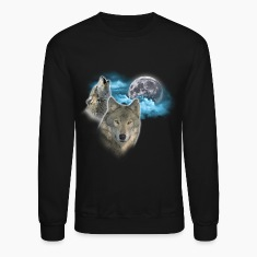 Wolves Moon 2 Long Sleeve Shirts