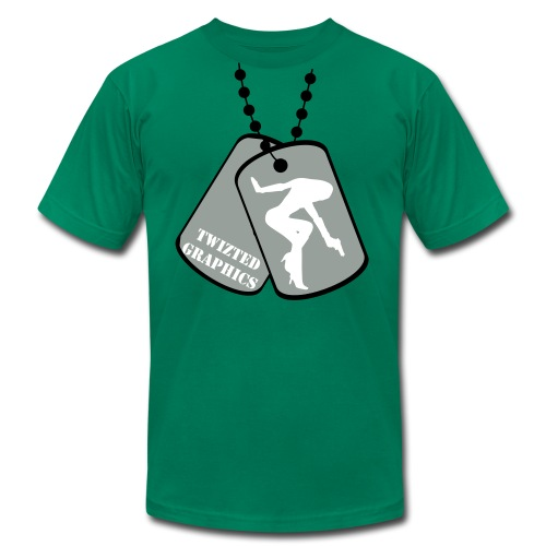 Dog Tags Tee - Men's Fine Jersey T-Shirt