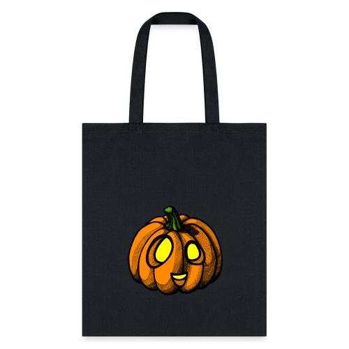 Pumpkin Halloween scribblesirii - Tote Bag