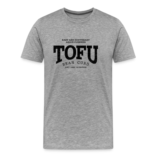 Tofu (black oldstyle) - Men's Premium T-Shirt