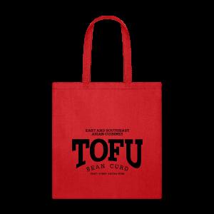 Tofu (black) - Tote Bag