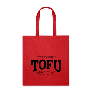 Tofu (black) - Tote Bag