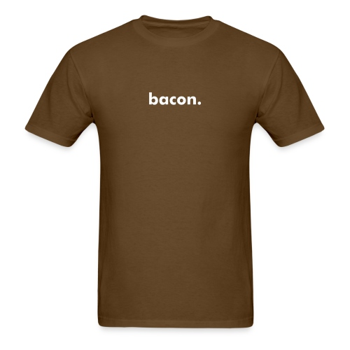 bacon. Men's Cotton Shirt. - Men's T-Shirt