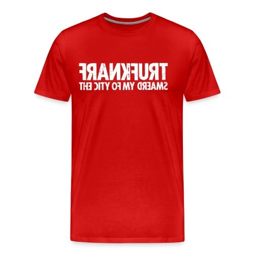 Frankfurt (white oldstyle) - Men's Premium T-Shirt
