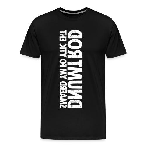 Dortmund (white oldstyle) - Men's Premium T-Shirt