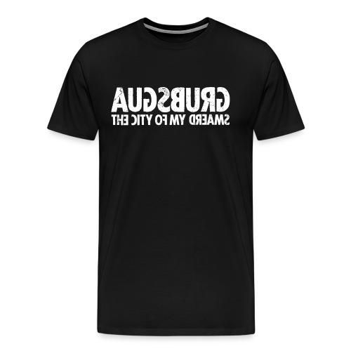 Augsburg (white oldstyle) - Men's Premium T-Shirt