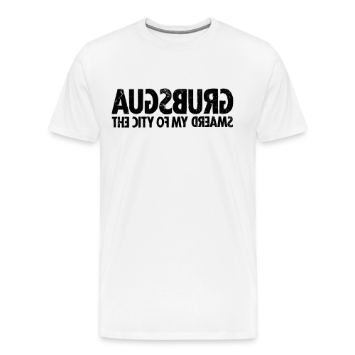 Augsburg (black oldstyle) - Men's Premium T-Shirt