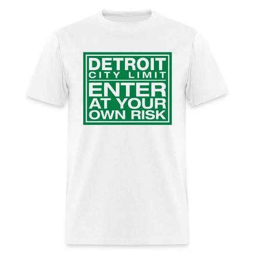 Detroit Risk Mens Tee - Men's T-Shirt