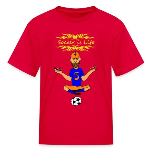 Soccer is Life Kids Tee - Kids' T-Shirt