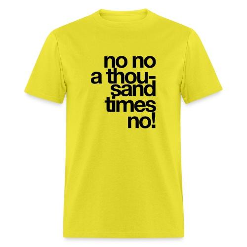no x 1000 - Men's T-Shirt