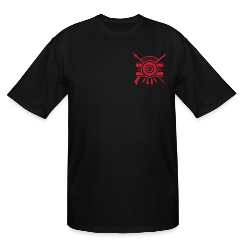 IDC Men's Tall T-shirt (1-Color Red Emblem) - Men's Tall T-Shirt