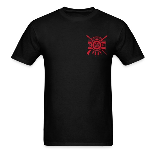 IDC Men's T-shirt (1-Color Red Emblem) - Men's T-Shirt