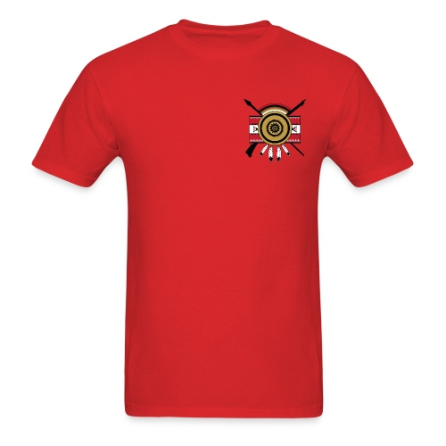 IDC Men's T-shirt (Full-Color Black Emblem) - Men's T-Shirt
