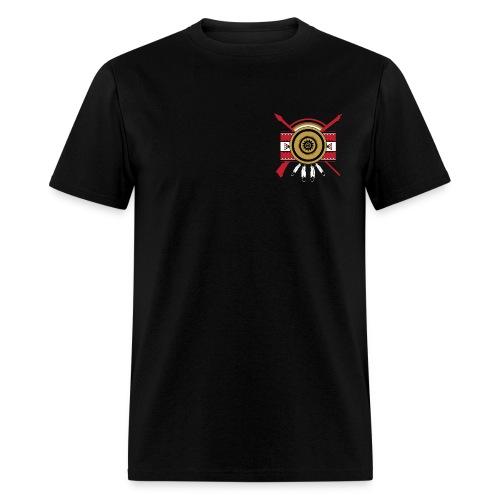 IDC Men's T-shirt (Full-Color Red Emblem) - Men's T-Shirt