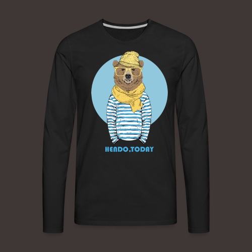 Hendo.Today - Men's Premium Long Sleeve T-Shirt