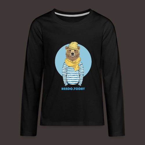 Hendo.Today - Kids' Premium Long Sleeve T-Shirt