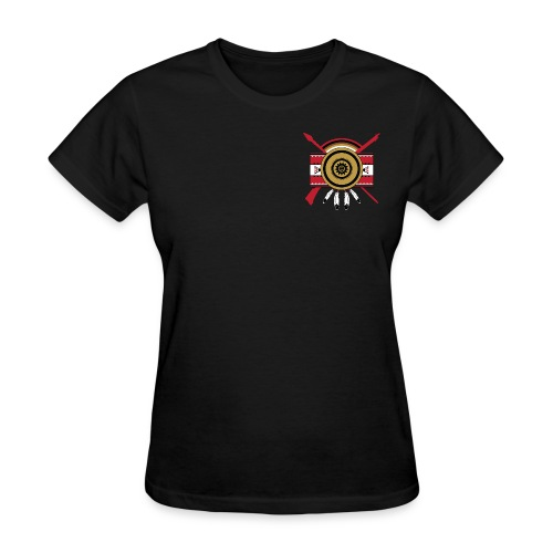 IDC Women's T-shirt (Full-Color Red Emblem) - Women's T-Shirt