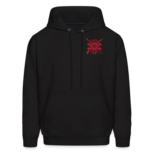 IDC Men's/Unisex Hoodie (1-Color Red Emblem) - Men's Hoodie