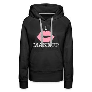 I Lips Makeup - Women's Premium Hoodie
