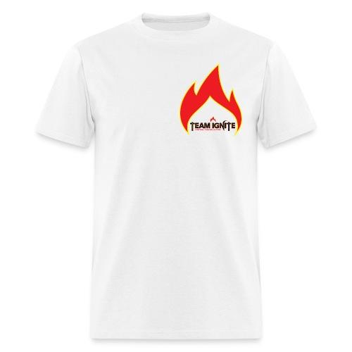 Flame Men's T-Shirt (WHITE) - Men's T-Shirt