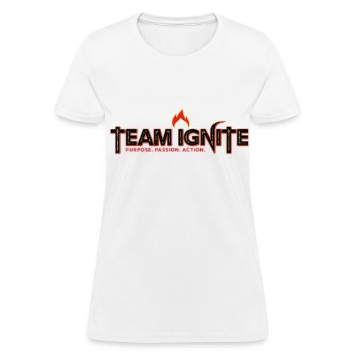 Team Ignite Women's T-Shirt (WHITE) - Women's T-Shirt