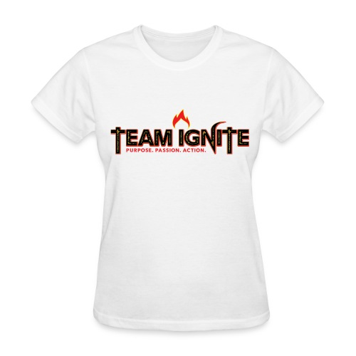 Team Ignite Women's T-Shirt (WHITE) - Women's T-Shirt