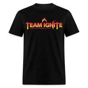 Team Ignite Men's T-Shirt (BLACK) - Men's T-Shirt