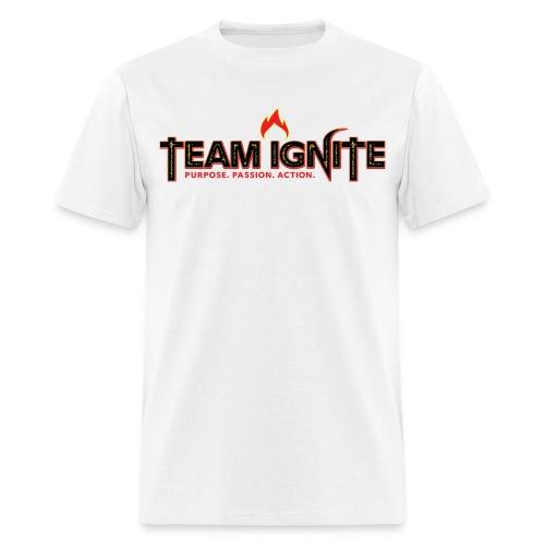 Team Ignite Men's T-Shirt (WHITE) - Men's T-Shirt
