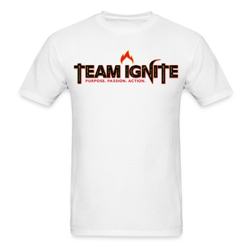 Team Ignite Men's T-Shirt (WHITE) - Men's T-Shirt