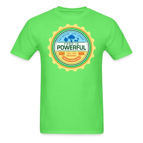 Food is Powerful - Men's T-Shirt