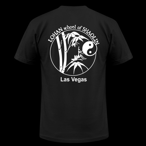 Unisex Lohan School Training Shirt AMERICAN APPAREL - Jing Wu Spirit - Men's Fine Jersey T-Shirt