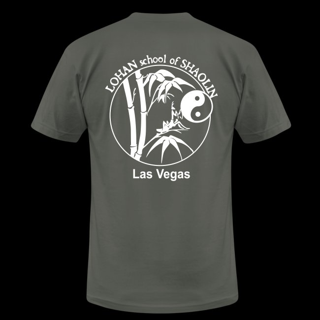 Unisex Lohan School Training Shirt AMERICAN APPAREL - Jing Wu Spirit