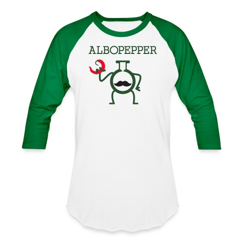 Albopepper Stache Icon - Baseball T-Shirt