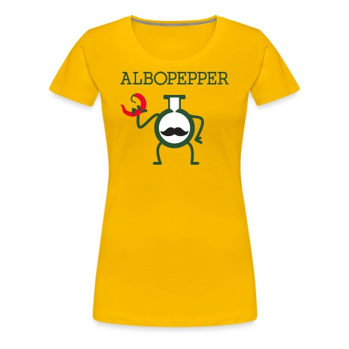 Albopepper Stache Icon - Women's Premium T-Shirt