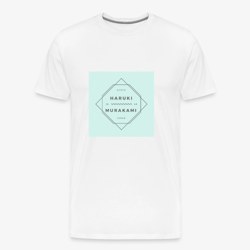 Haruki Murakami Shirt - Men's - Men's Premium T-Shirt